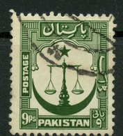 Pakistan 1954 9as Scale Issue #26a - Pakistan
