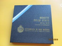 Coffrets SAN MARINO 1973 BU - San Marino