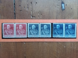 REGNO 1925/26 - Nn. 188-189-190 In Coppia Nuovi ** + Spese Postali - 1900-44 Victor Emmanuel III
