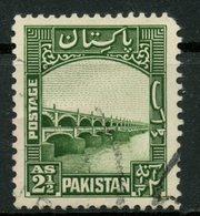 Pakistan 1948 2 1/2as Dam Issue #30 - Pakistan