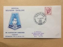 AUSTRALIA - 1971 - 9th Australian Scout Jamboree - Leppington NSW - 1966-79 Elizabeth II