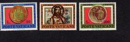 684615499 VATICAN 1975 POSTFRIS MINT NEVER HINGED POSTFRISCH EINWANDFREI SCOTT 579 581 9TH INTL CONGRESS CHRISTIAN ARCHA - Luxembourg