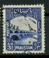 Pakistan 1948 3 1/2as Dam Issue #32 - Pakistan