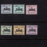 684615991 VATICAN 1968 POSTFRIS MINT NEVER HINGED POSTFRISCH EINWANDFREI SCOTT J19 - J24 PAPAL ARMS - Luxembourg