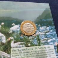 Austria 50 Shilling 1998 Lorenz Österreich Folder - Austria