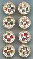 FOOTBALL / SOCCER / FUTBOL / CALCIO - UEFA CHAMPIONS LEAGUE 2008/2009, Lot 8 Pieces Set, Pin, Badge, Abzeichen - Football