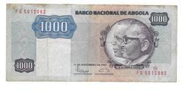 Billet De Mil Kwanzas (1000) ANGOLA 1987 - Angola