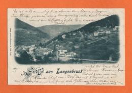 Gruss Aus Langenbruck - Basel - Bâle - BL Bâle-Campagne
