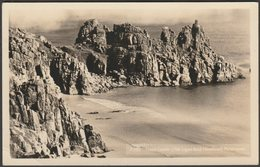 Treen Castle, Porthcurno, Cornwall, 1963 - Penpol Picturecards RP Postcard - England