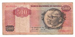 Billet De Quinhentos Kwanzas (500) ANGOLA 1984 - Angola