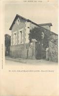 CPA 72 Chateau Du Loir Gentil Motif Précurseur Non Circulé Librairie Laurentine Cliché Hublin No 110 Les Bords Du Loir - Chateau Du Loir