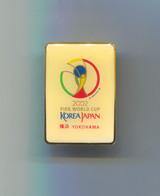 FOOTBALL / SOCCER / FUTBOL / CALCIO - FIFA WORLD CUP SOUTH KOREA & JAPAN 2002 YOKOHAMA, Pin, Badge, Abzeichen - Football