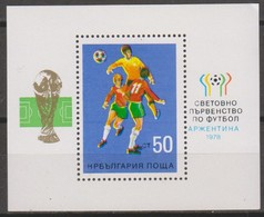 Bulgaria 1978 MiN°2656  Block 1v MNH - Bulgaria