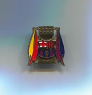 FOOTBALL / SOCCER / FUTBOL / CALCIO - FC BARCELONA SPAIN, Pin, Badge, Abzeichen - Football