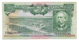 Billet De Cinquenta Escudos (50) ANGOLA 1956 - Angola