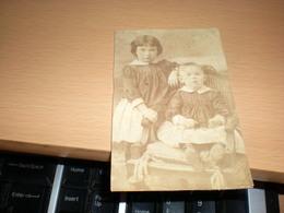 Old Cardboard Voslau Atelier Helios  Voslau Visit Portrait - Photographs