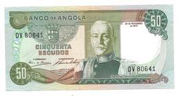 Billet De Cinquenta Escudos (50) ANGOLA 1972 - Angola