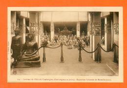 CPA FRANCE 13  ~  MARSEILLE  ~  Expo Coloniale 1922 - 124  Intérieur De L'Edicule Cambodgien - Expositions Coloniales 1906 - 1922