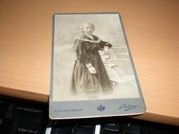 Old Cardboard C Pietzner   KuK Hof Atelier Visite Portrait - Photographs