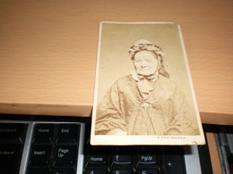 Old Cardboard Wien R Kriziwanek Visite Portrait - Photographs