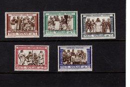 684621973 VATICAN 1960 POSTFRIS MINT NEVER HINGED POSTFRISCH EINWANDFREI SCOTT 284 291  E15 E16 ACTS OF MERCY - Luxembourg