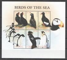 X777 ST.VINCENT FAUNA BIRDS OF THE SEA 1KB MNH - Vögel