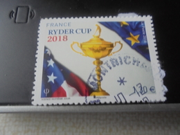 RYDER CUP (2018) - Oblitérés