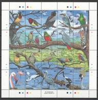 X788 TANZANIA ANIMALS BIRDS 1SH MNH - Vögel