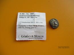 Monnaie GRECQUE PHILIPPE II Macedoine 1/5 De Tétradrachme 359/336 Avant JC - Greek