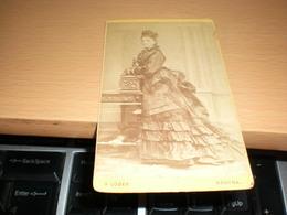 Old Cardboard  Nyitra Neutra G Loger  Visite Portrait - Photographs