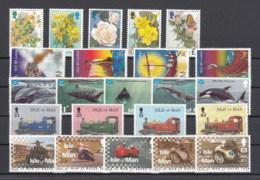 Isola Di Man Nuovi:  Annata Completa 1998 - Isola Di Man