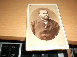 Old Cardboard  Baden Friedrich Schiller Photograph  Visite Portrait - Photographs