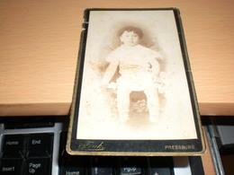 Old Cardboard  Presburg Atelier Fotografie Und Malarei Alexander Funk  Visite Portrait - Photographs