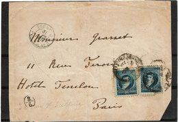 LBR26 - ARGENTINE DEVANT DE LETTRE PAQ. FRANC. N°3 LIGNE J 1897 - Argentine