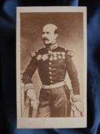 Photo CDV Anonyme - Militaire Général Trochu Circa 1865 L408 - Photographs