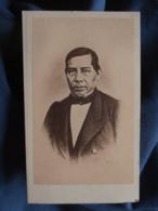 Photo CDV Anonyme - Bénito Juarez Mexique Circa 1865-70 L408 - Photographs