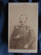 Photo CDV Anonyme - Noblesse Prussienne, Personnalité à Identifier Circa 1860 L408 - Photographs