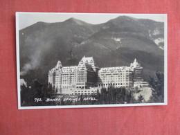 Canada > Alberta > Banff RPPC-- Banff Springs Hotel Has  2pin Holes    Ref 3101 - Banff