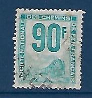 """FR Petits Colis YT 21 """" 90F. Turquoise """" 1944-47 Oblitéré - Used"""