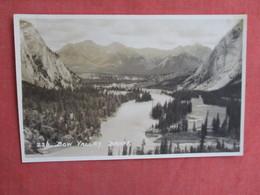 Canada > Alberta > Banff RPPC-- Bow Valley-- Has  2pin Holes    Ref 3101 - Banff