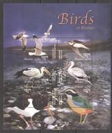 X810 BHUTAN FAUNA BIRDS 1KB MNH - Vögel