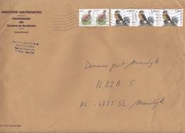 2003 Envelop Douanekantoor Zelzate Met Vogels Oiseaux 0,60 En 1,00 (Michel 3188-3429) Naar Douanekanoor Moerdijk - 1985-.. Oiseaux (Buzin)