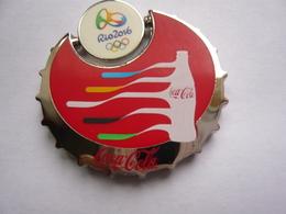 Pin S Mobile COCA COLA  JEUX OLYMPIQUES 2 Attaches   Neuf - Coca-Cola