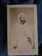 Photo CDV Anonyme - Abd El Kader Circa 1860 L408 - Photographs