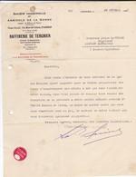 FACTURE--PARIS  IXè-société Industrielle Et Agricole De La Somme-raffinerie De Tergnier à LAPUYADE MONTAUT-BETHARM 1932 - France