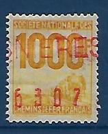 """FR Petits Colis YT 26 """" 1000F. Jaune """" 1944-47 Oblitéré - Used"""