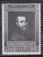 Città Del Vaticano, 1964 - 10 Lire Michelangelo Buonarroti - Nr.387 MNH** - Gebraucht