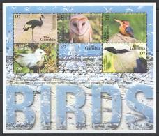 X816 GAMBIA FAUNA BIRDS 1KB MNH - Vögel