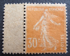 R1680/257 - 1907 - TYPE SEMEUSE - N°141c NEUF(*) BdF - PAPIER GC - Cote : 20,00 € - France