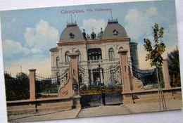 CAMPINA 1910, Vila STEFANESCU, CASA Cu Grifoni, Necirculata - Rumänien